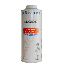 """Ceara siliconica lichida """"Lucido"""" – Lac siliconic profesional pentru suprafete din marmura, granit, alte pietre lustruite, mozaic etc. Revigoreaza culoarea, Efect """"umed"""".  Ideal atat pentru profesionistii pietrei, cat si pentru utilizatorii neexperimentati."""