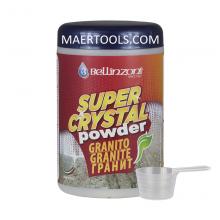 Praf Super Crystal pentru granit – Praf profesional pentru lustruit, intarit, restaurarea granit, mosaic,  pietre dure.