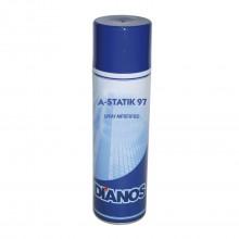 Spray antistatic A-STATIK 97 500 ml – Spray antistatic pentru capturarea particulelor de praf si pulberi in tesatura lavetelor, carpelor, periilor, pamatufurilor si mopurilor de sters praful.