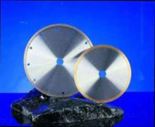 Discuri diamantate coroana continua pentru tăiere/debitare la uscat